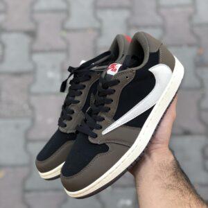 خرید کتونی نایک ایر جردن Nike Air Jordan 1 Travis Scott Low